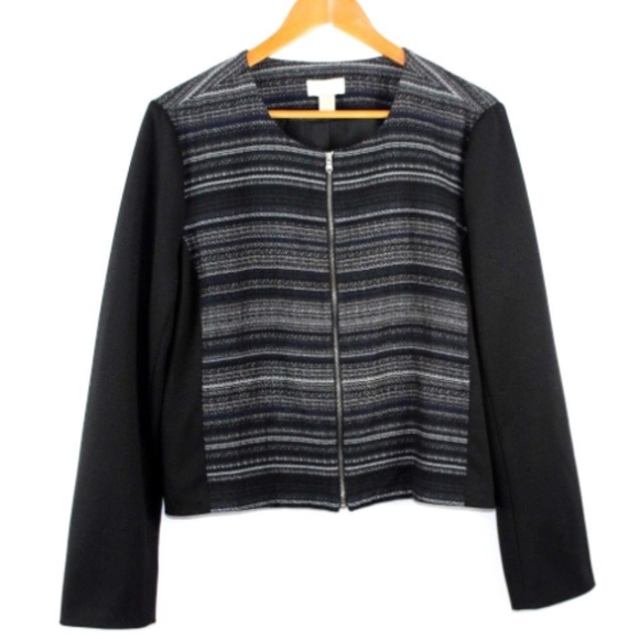 Ann Taylor Jackets & Blazers - Ann Taylor LOFT Factory Women's Blazer Black XL